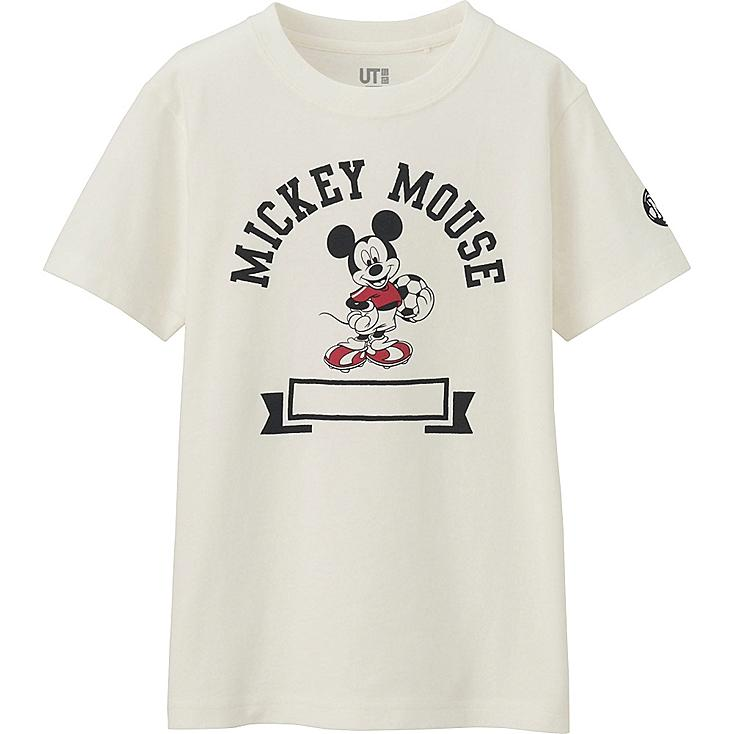 BOYS DISNEY COLLECTION SHORT SLEEVE GRAPHIC T-SHIRT, OFF WHITE, large