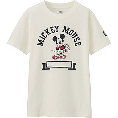 BOYS DISNEY COLLECTION SHORT SLEEVE GRAPHIC T-SHIRT, OFF WHITE, medium