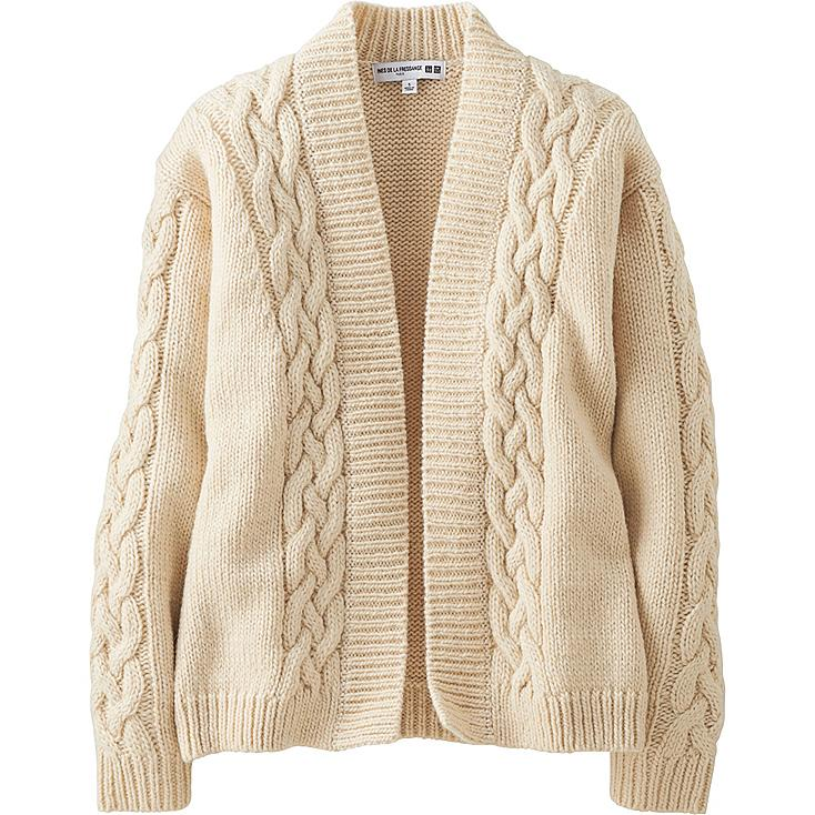 WOMEN Ines Heavy Gauge Cable Cardigan