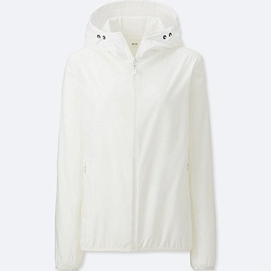 WOMEN POCKETABLE PARKA, OFF WHITE, medium