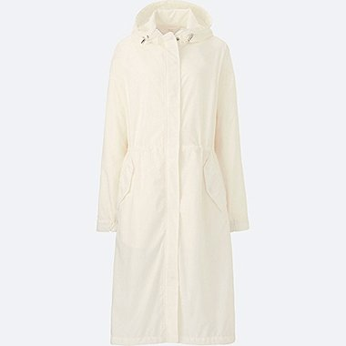 WOMEN OVERSIZED LONG PARKA, OFF WHITE, medium