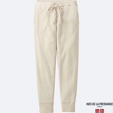 WOMEN IDLF SWEATPANTS, OFF WHITE, medium