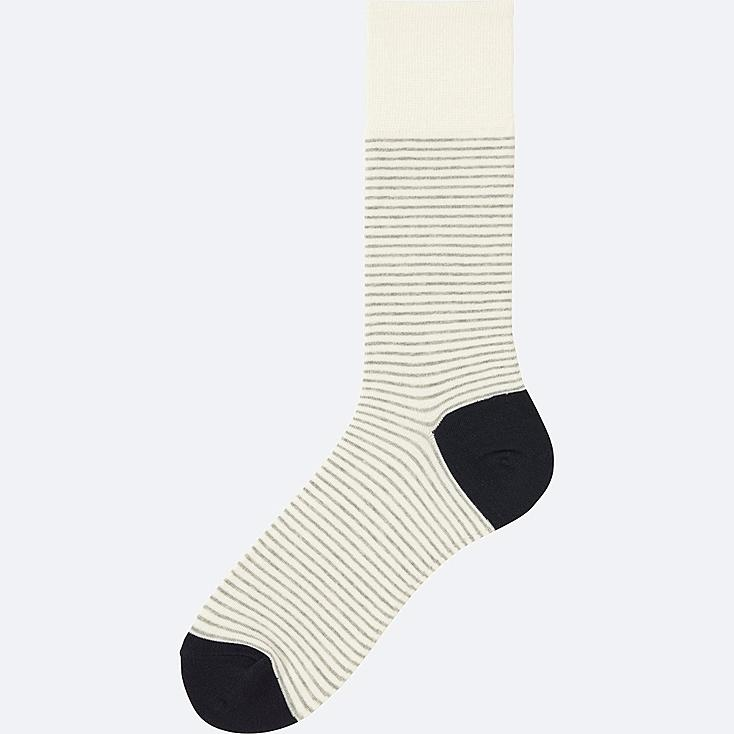MEN Narrow Striped Socks (size 8-11)