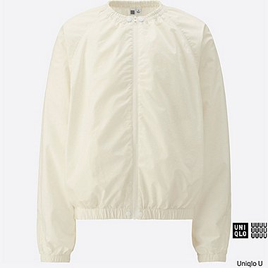 WOMEN Uniqlo U Collarless Blouson