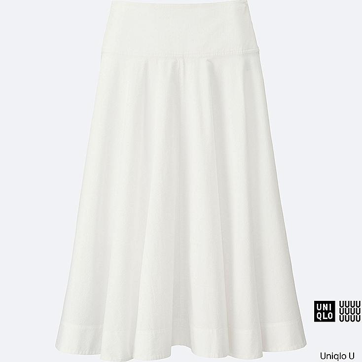 WOMEN Uniqlo U Seersucker Round Skirt