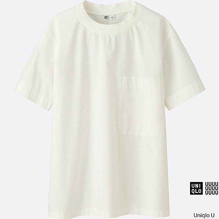 WOMEN Uniqlo U Cotton Short Sleeve T Blouse