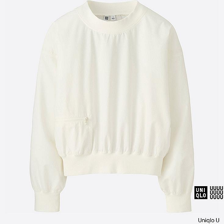 WOMEN Uniqlo U Cotton Long Sleeve T Blouse