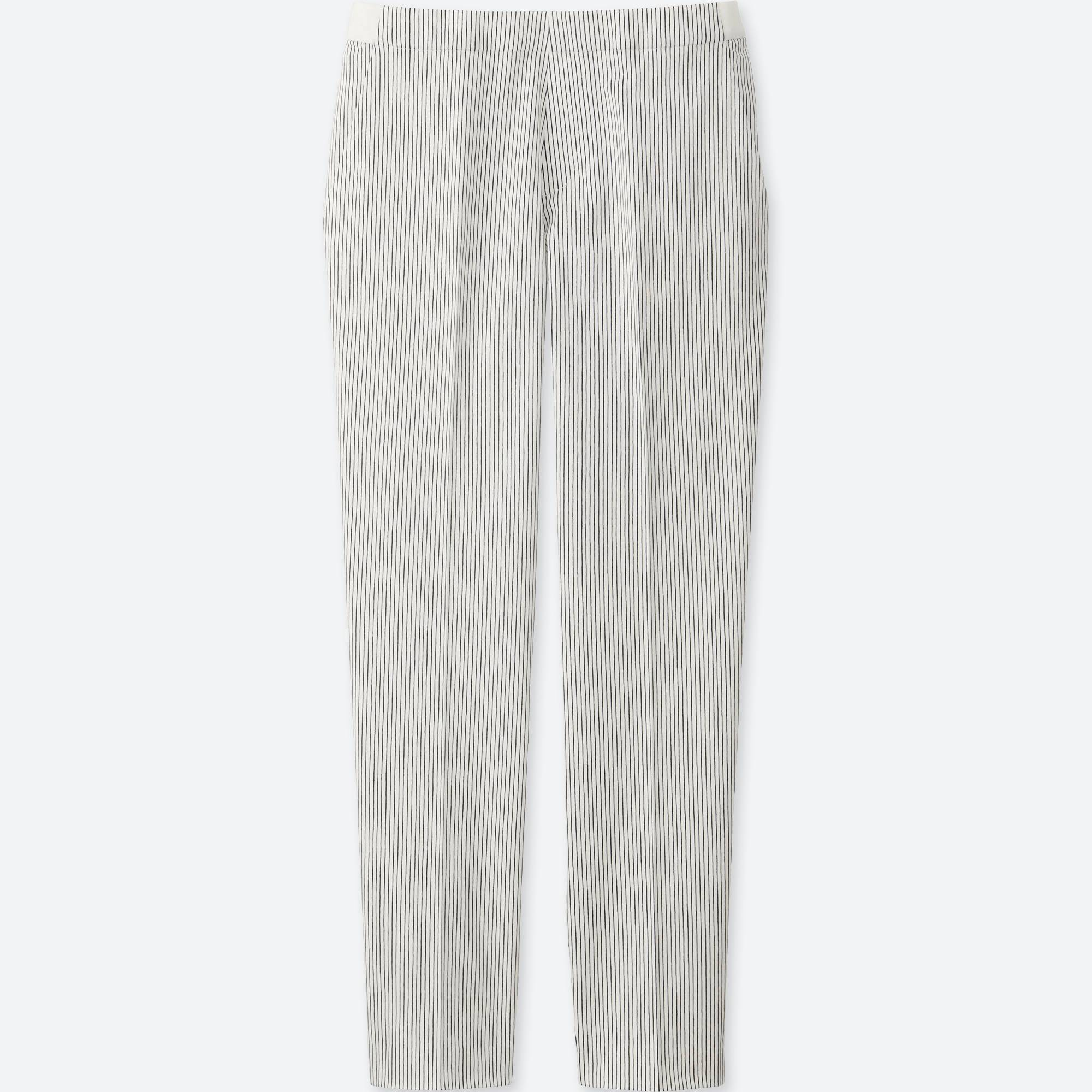 WOMEN SATIN ANKLE LENGTH PANTS