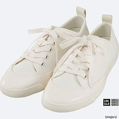 MEN U CANVAS SNEAKERS, OFF WHITE, medium