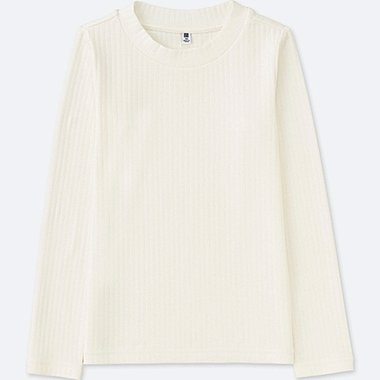 GIRLS Ribbed Long Sleeve T-Shirt