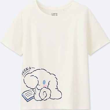 WOMEN SANRIO Short Sleeve Graphic T-Shirt