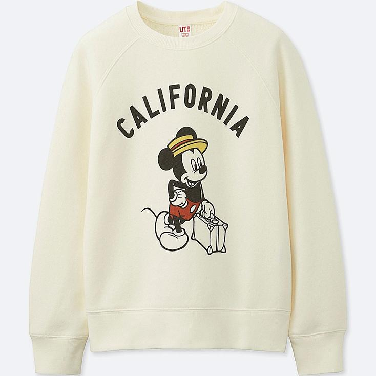 BOYS MICKEY TRAVELS GRAPHIC SWEATSHIRT, OFF WHITE, large