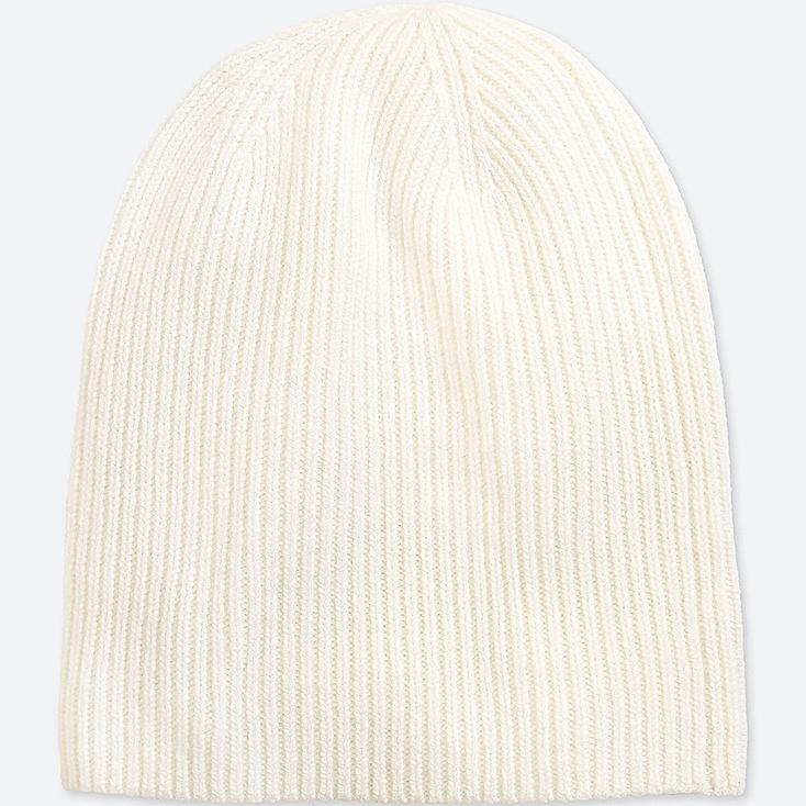 CASHMERE KNITTED BEANIE