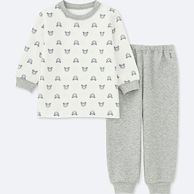 BABIES TODDLER QUILTED LONG SLEEVE PYJAMAS