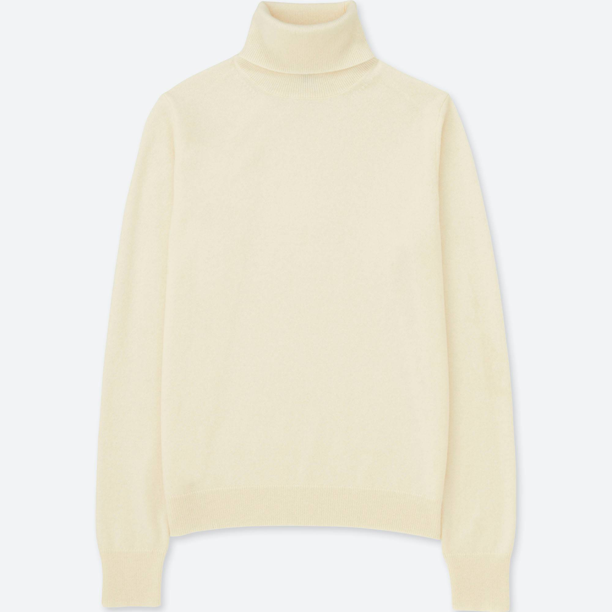 WOMEN CASHMERE TURTLENECK SWEATER | UNIQLO US
