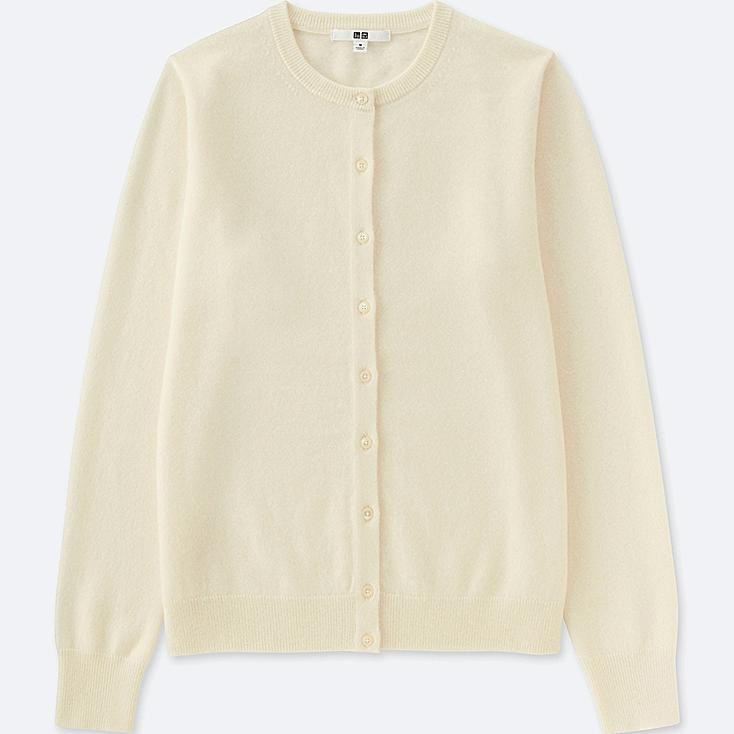 WOMEN CASHMERE CREW NECK CARDIGAN (ONLINE EXCLUSIVE) | UNIQLO US
