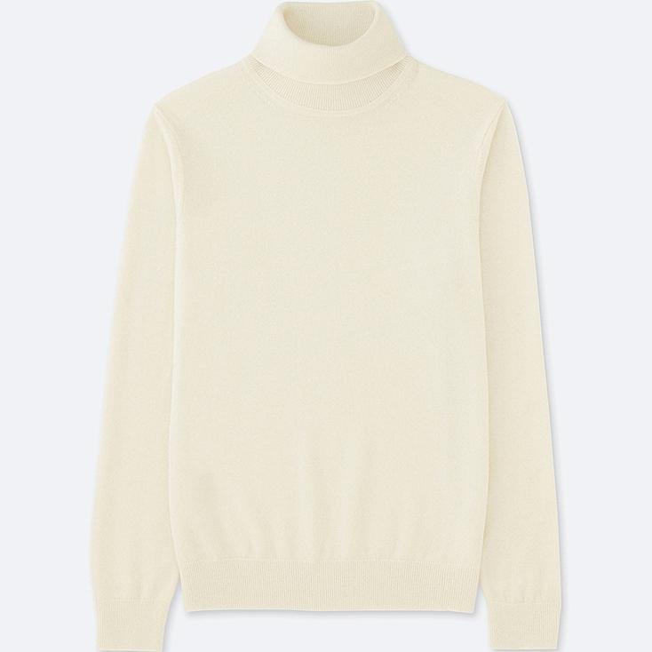 MEN CASHMERE TURTLE NECK LONG SLEEVE SWEATER