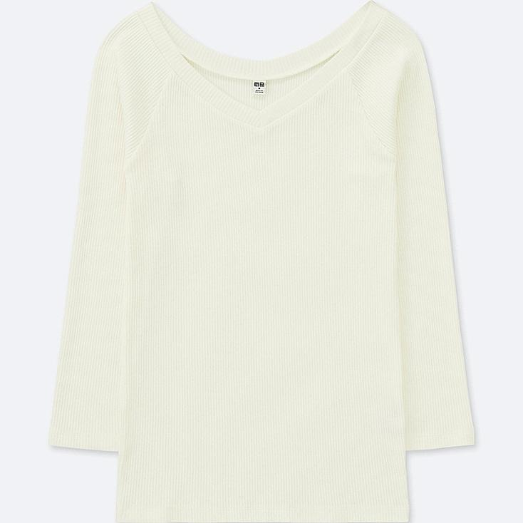 DAMEN T-SHIRT 3/4 ARM