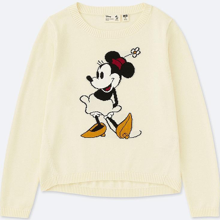Suéter manga larga cuello redondo Mickey Stands(minnie) NIÑOS
