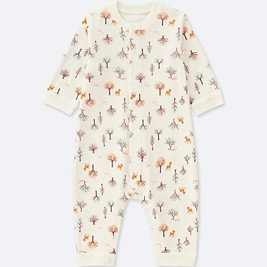 BABY LONG-SLEEVE ONE PIECE OUTFIT, OFF WHITE, medium