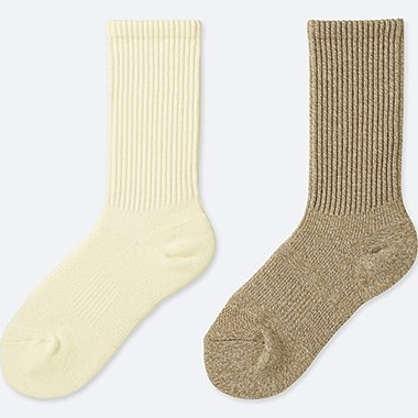 WOMEN HEATTECH SOCKS (2 PAIRS) (SPORTS)