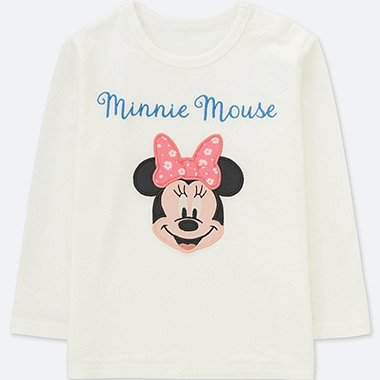 BEBÉ CAMISETA MANGA LARGA COLLECCIÓN DISNEY TEXTIL