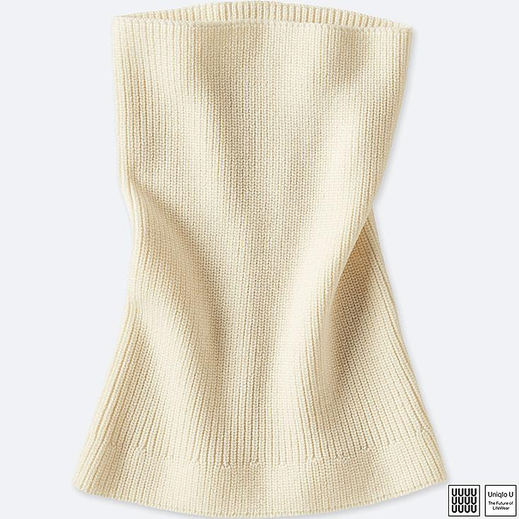 WOMEN UNIQLO U FISHERMAN RIB NECK WARMER