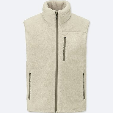 MEN BLOCKTECH PILE LINED FLEECE VEST