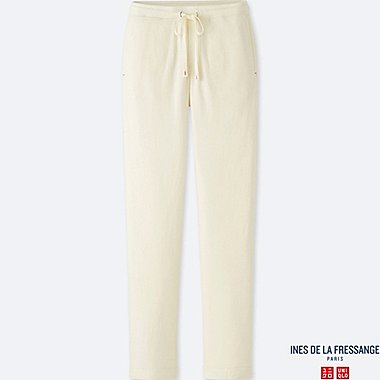 WOMEN INES DOUBLE FACE PANTS