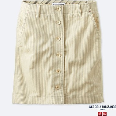 WOMEN INES CORDUROY MINI SKIRT
