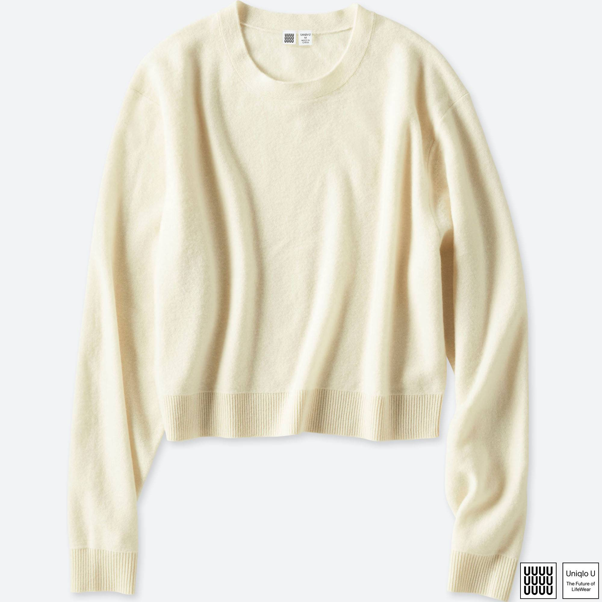 WOMEN U SOFT LAMBSWOOL CREWNECK SWEATER | UNIQLO US