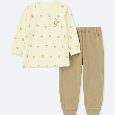 BABIES TODDLER DISNEY STRETCH MICRO FLEECE PYJAMAS