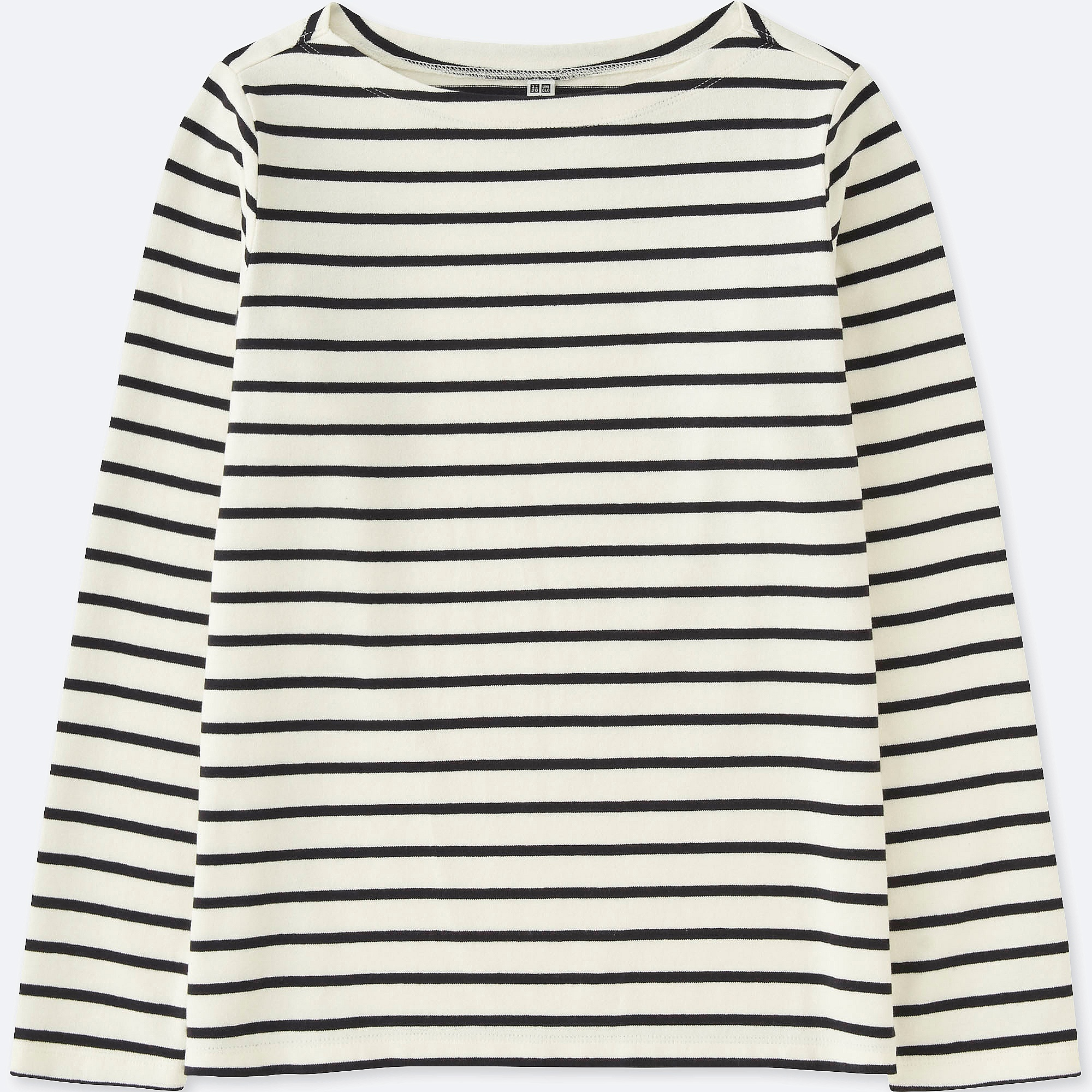 6704fe958d666 Uniqlo WOMEN STRIPED BOAT NECK LONG SLEEVE T-shirt at £7.9