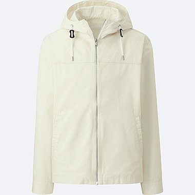 MEN COTTON FULLZIP PARKA