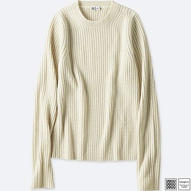 DAMEN UNIQLO U STRICKPULLOVER CREW NECK