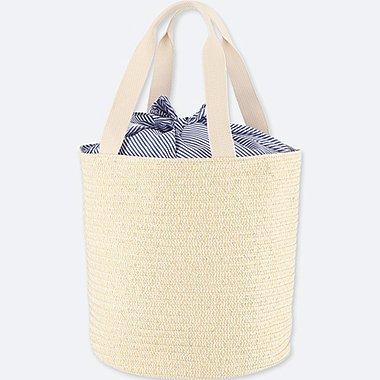 WOMEN Paper Bucket Tote Bag