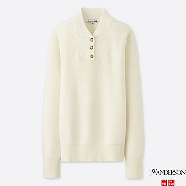 WOMEN J.W.ANDERSON MILITARY SWEATER