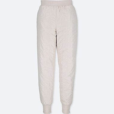 WOMEN BLOCKTECH EXTRA WARM LINED QUILTED TROUSERS