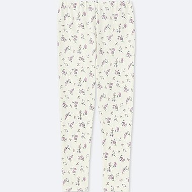 GIRLS LEGGINGS, OFF WHITE, medium