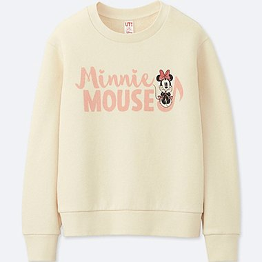 KIDS SOUNDS OF DISNEY PULLOVER SWEATSHIRT, OFF WHITE, medium
