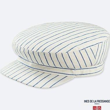 WOMEN IDLF CASQUETTE CAP, OFF WHITE, medium