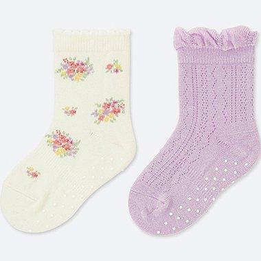BABY socks, OFF WHITE, medium