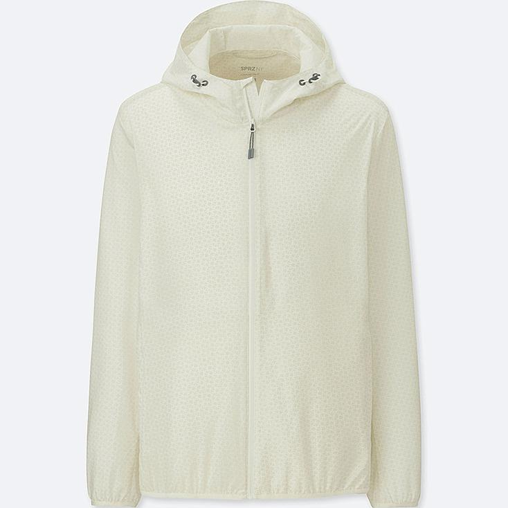 Men Sprz Ny Pocketable Parka (Francois Morellet) by Uniqlo