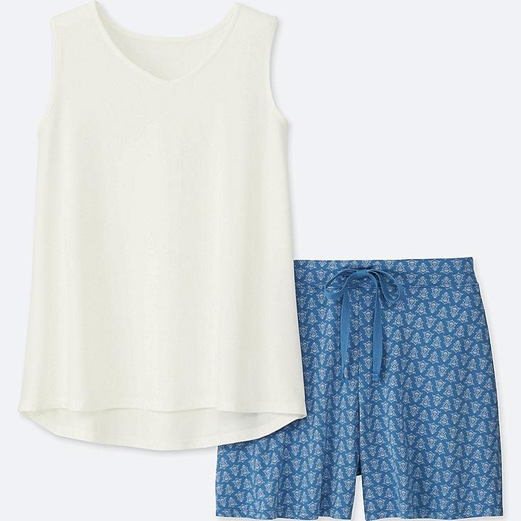 WOMEN AIRism SLEEVELESS LOUNGE SET at UNIQLO in Brooklyn, NY | Tuggl