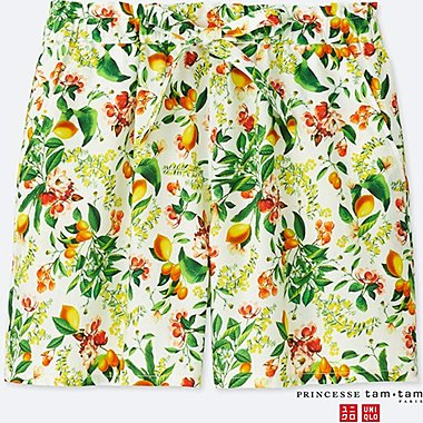 WOMEN PRINCESSE TAM.TAM SHORT PANTS (BOTANICAL)