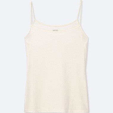 WOMEN HEATTECH CAMISOLE, OFF WHITE, medium
