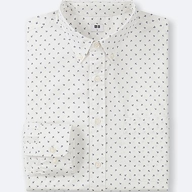 Herren Extra feine Baumwolle Hemd