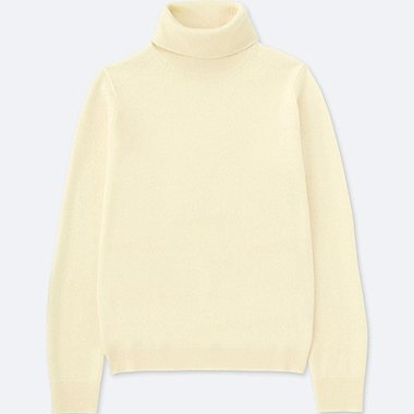 WOMEN CASHMERE TURTLENECK JUMPER