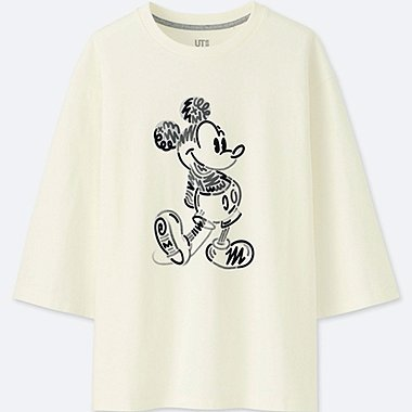 DAMEN T-SHIRT LOVE & MICKEY MOUSE KOLLEKTION