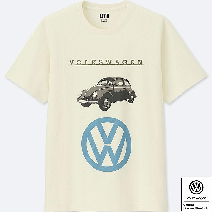 THE BRANDS SHORT-SLEEVE GRAPHIC T-SHIRT (VOLKSWAGEN), OFF WHITE, large